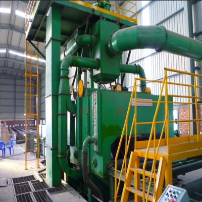 孟加拉QXY2500钢板预处理线案例